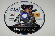 Oni Sony Playstation 2 PS2 Video Game Disc Only