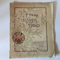 Partitura Minuet de La Novia Francis Taylor Op.89 Lemoine 1885