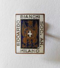 DISTINTIVO VINTAGE EDOARDO BIANCHI MILANO - BICICLETTE
