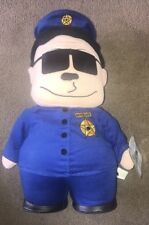 Officer Barbrady - South Park Soft Plush Toy. 13 inches high 1998.