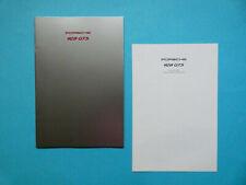 Prospekt / Katalog / Brochure Porsche 928 GTS  08/91