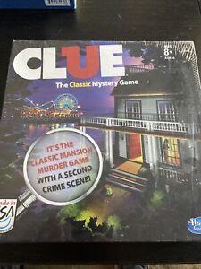 Clue Board Game   Hasbro   2013 Edition   Classic Mansion Game & Boardwalk