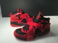 Nike Teenager Air RAID Athletic Boy's Shoes Sz 7Y Red #644412-600