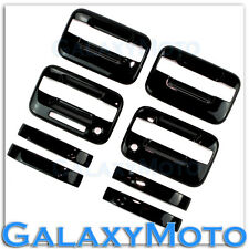04-14 Ford F150 Truck Gloss Black 4 Door Handle+keypad+with PSG keyhole Cover