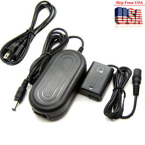 7.6V AC Adapter For AC-PW20 Sony Alpha a3000 a5000 a5100 a6000 a6300 a6400 a6500