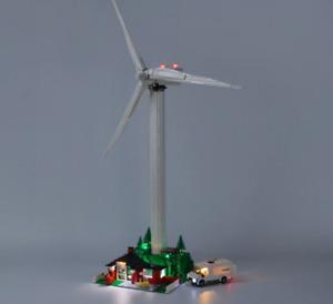 Led Light Kit For 10268 Creator Vestas Wind Turbine Building Blocks
