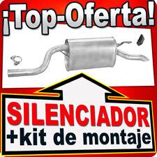 Silenciador Trasero  FIAT PUNTO II (188) 1.2 8V 16V 1999-2009 Escape BCU