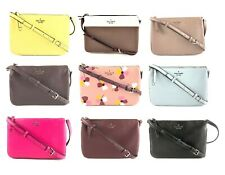 Kate Spade Jackson Leather Triple Gusset Crossbody Handbag Purse