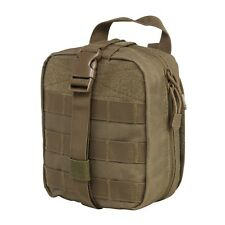NcStar VISM TAN Rip Away EMT MOLLE Utility Medic Bag First Aid Tool Pouch