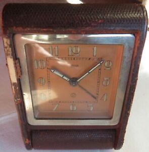 Jaeger 2 Days Alarm travel clock