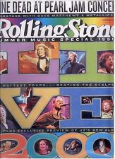 Rolling Stone August 17, 2000 Issue 847 Brand New Sealed Summer Music Special