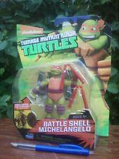 TEENAGE MUTANT NINJA TURTLES - Battle Shell MICHELANGELO (playmates)