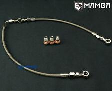 MAMBA AVCS Turbo Oil Feed Line 02~06 WRX / 04~14 STI GT28R GT30R For Subaru