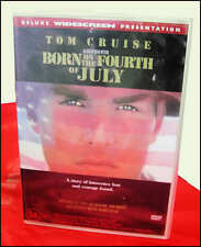 DVD Movie - Tom Cruise - Born on the Fourth of July *