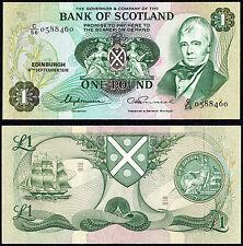 SCOTLAND BANK OF SCOTLAND 1 Pound (p111c) 1976 aUNC