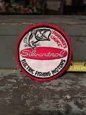 Vintage New Old Stock Fishing Equipment Patch Silvertral Electric Motors