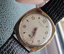 Vintage 9 majex  mens gold cased  watch
