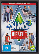 LIKE NEW The Sims 3 Diesel Stuff PC EA Game