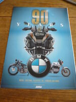 BMW HISTORY BROCHURE, 2014 - 90 YEARS