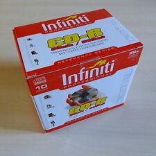 Infiniti Professional Oversized Blank CD-R 99min/900mb 10CDs Box for Overburning