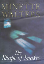 The Shape of Snakes by Minette Walters (Hardback, 2000)