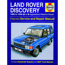 Haynes Land Rover Discovery 89-98 g a s registratrion BENZINA E DIESEL