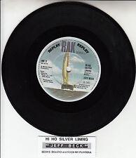 "JEFF BECK   Hi Ho Silver Lining EP 7"" 45 rpm record + juke box title strip NEW"