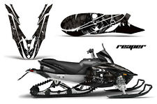 YAMAHA APEX GRAPHIC KIT AMR RACING SNOWMOBILE SLED WRAP DECAL 12-13 REAPER BLACK