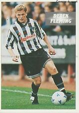 N°110 DEREK FLEMING SCOTLAND DUNFERMLINE.FC STICKER PANINI SCOTTISH LEAGUE 1997