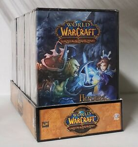 World Of Warcraft WOW TCG Heroes of Azeroth 6 Starter Deck Case Sealed