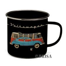 Camper Van Enamel Coffee Mug Cup T1 Volkswagen VW Collection by BRISA BUTA12