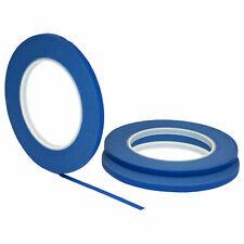 3 Pack 14 25 Inch X 60yd 6mm X 55m Thin Stikk Blue Painters Masking Tape
