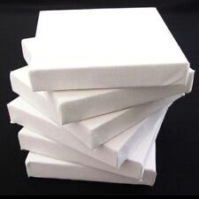 Set da 6 Tela Bianca ARTISTI 15cm x piatto 17mm agghindato con gesso