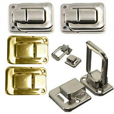 4X Fastener Toggle Lock Latch Catch For Suitcase Case Jewelry Boxes Chests Trunk