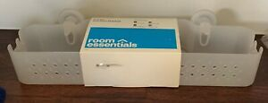 """Room Essentials  Long Basket with Power Lock Lever Suction White 18"""" x 5"""" x 5.5"""""""