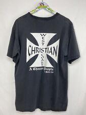 Vintage West Coast Christain Jesus Tee Jesse Who? T-Shirt Kanye Christ Religion