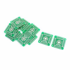 10Pcs SMD QFN48 QFN44 0.5mm to DIP 48/44 2.54mm Pitch PCB Adapter Plate Board