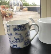 Fine Bone China Blue/Black Pint Safari Gift Tea/Coffee Mugs/Beaker 7 Variations
