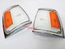 TOYOTA HILUX LN85 2WD CHROME INDICATOR CORNER LIGHT PAIR YEAR 1988-1997