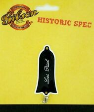 Gibson Guitar Historic Spec '61 Truss Rod Cover Black PRTR-061 ww ship