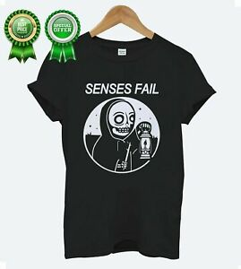 Limited Senses Fail American Post Hardcore Band Album T-Shirt Size S to 5XL