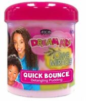 African Pride Dream Kids Olive Miracle Quick Bounce Hair Detangling Pudding 15oz
