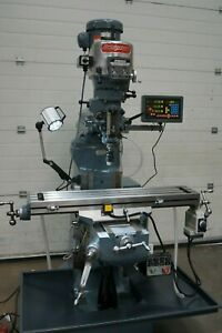 Bridgeport Milling Machine with Vari speed head and 42inch table