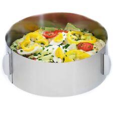 GEFU Tortenring H8,5cm verstellbar   Backzubehör Backen Backrahmen Tortenrahmen