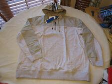 Adidas Sport LXE 1/2 zip s22765 jacket XXL 2XL hoody hoodie coat Mens grey hthr