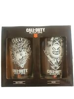 Premium Call of Duty Black Ops 4 Specialists Drinking Glasses Set of 2 Gift Set.