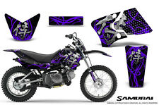 YAMAHA TTR90 CREATORX GRAPHICS KIT DECALS SAMURAI PRB