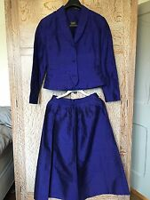 Twilight Silk Jacket And Matching Skirt