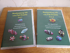 Glass Beadmaking with Pat Frantz DVD Parts 1 & 2 Brand New & Never Used