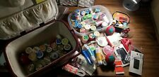 Sewing Basket And Tons Of Sewing Supplies